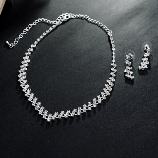 Luxury Wedding Bridal Jewelry Set 4