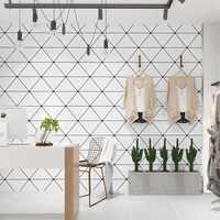 Обои в скандинавском стиле современные минималистичные геометрические треугольные обои для гостиной спальни