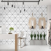 Nordic Style Background Wallpaper Modern Minimalistic Geometric Triangle Living Room Bedroom Wallpaper