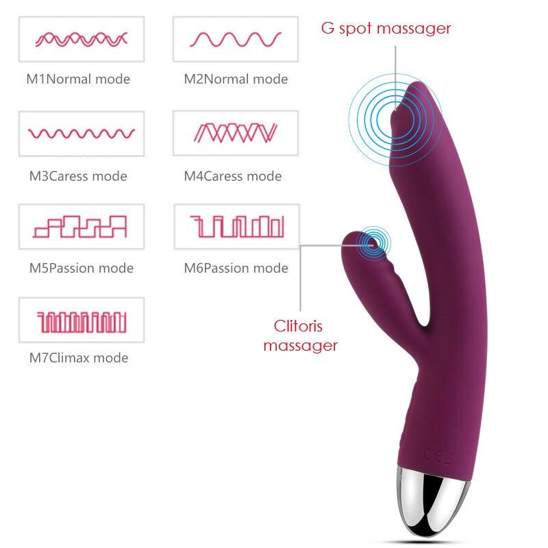 Women magic wand handheld massager vibrator massage full body speed multi speed