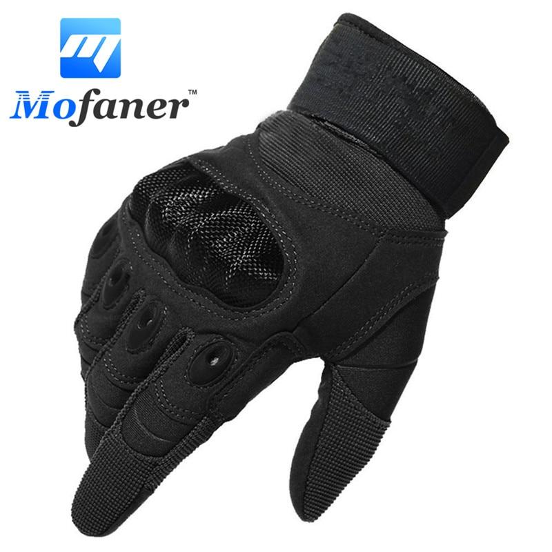 One Pair New Motorcycle Full Finger Gloves Scooter Motorbike Motor Racing Warm Glove недорого
