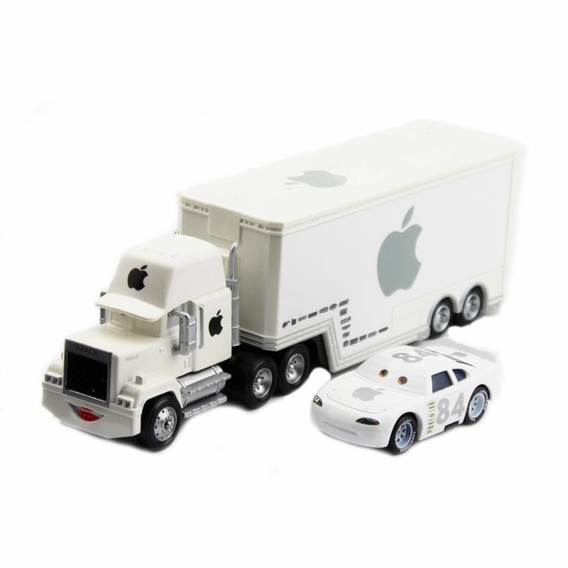 Disney Pixar Cars 3 2 Toys Lightning Mcqueen White Apple Mack