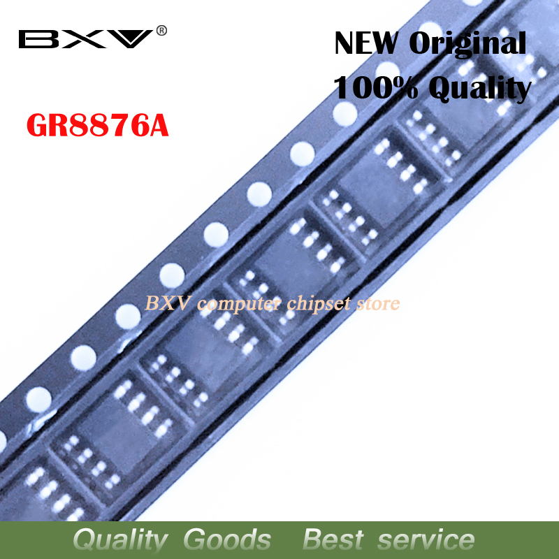 10pcs  GR8876 GR8876A Sop-8 Chipset New Original New Original