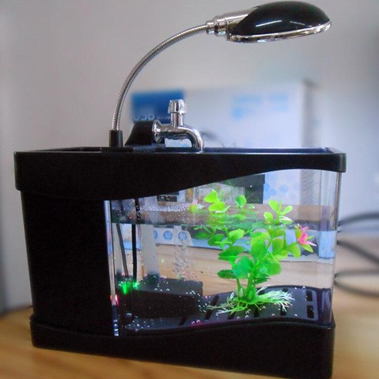Office Desk Aquarium. Aliexpresscom Buy Home Aquarium Supplies Mini Usb  Glass Aquariums Free Adjustment Led