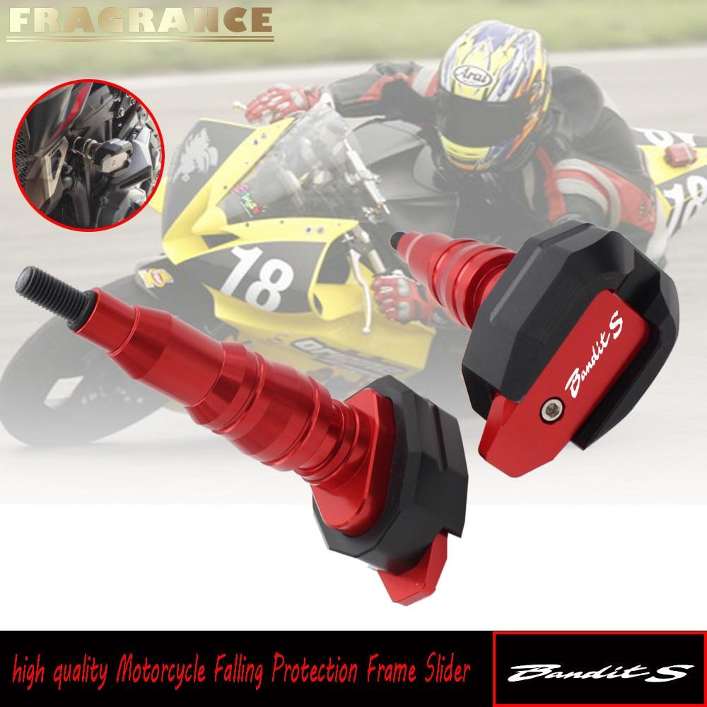 Protection de chute de moto cadre de Protection de carénage Protection Anti-choc Protection pour Suzuki Bandit s GSF600S GSF 600 S