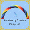 2015 Hot Free Shipping 6m Inflatable Rainbow Arch for Events, Inflatable Colorful arch for Promotion
