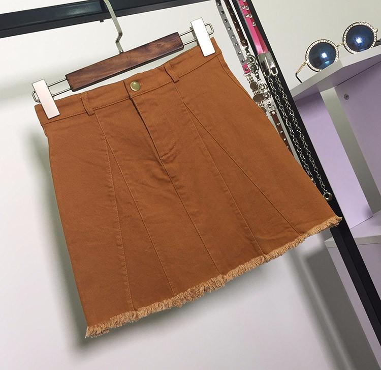 HTB1iPXTOVXXXXa7XFXXq6xXFXXXq - American Apparel button Denim Skirt JKP265