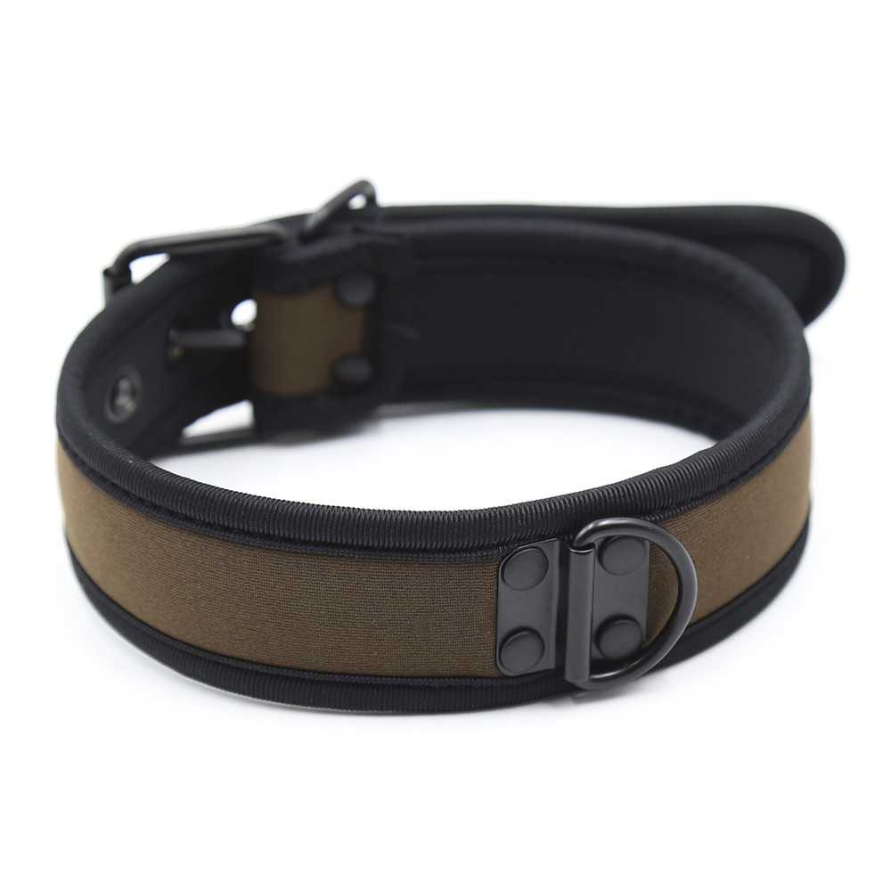 Bondage PU Leather Neck <font><b>Collar</b></font> Leash SM products <font><b>BDSM</b></font> Sex toys Sexy Restraint Fetish SM Adult Sex Toys for Adult <font><b>Slave</b></font> Game image