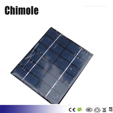 Solar Panel Module for LED Light Battery Batteries Cells Phones Charger Portable 6V 2W 330mAh DIY Solar Cell 110x136x3mm
