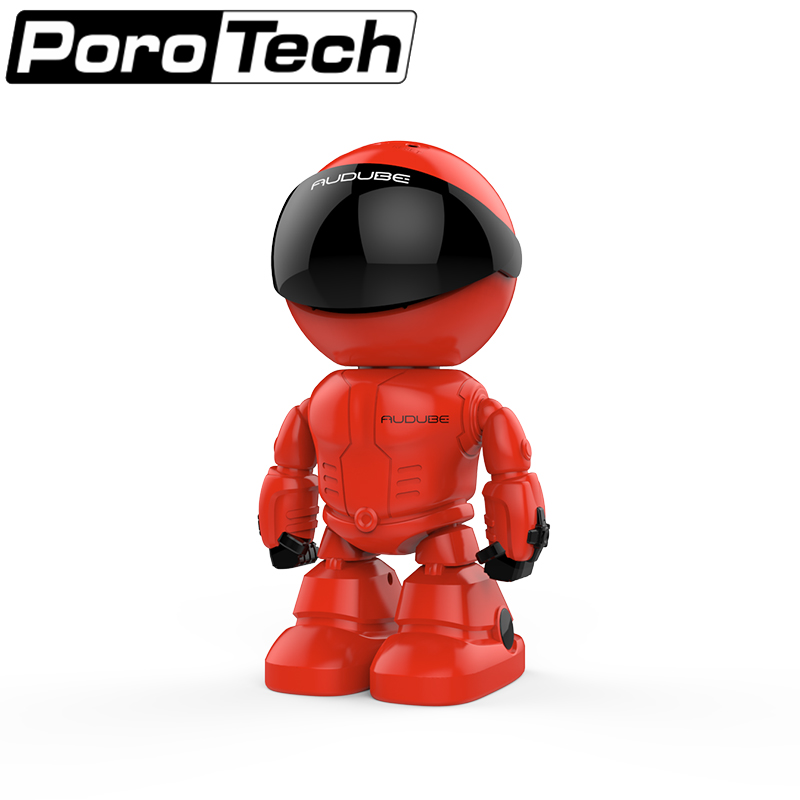 A160 HD wireless Robot IP Camera 960P Camera 1.3MP CMOS Baby Monitor Remote Home Security P2P IR Night Vision camera red