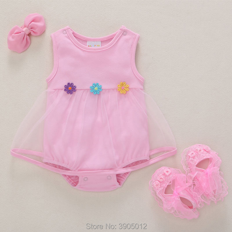 2018 Sale Vestido Infantil Baby Dress Summer Slim 0-3 Months 6 Newborn Cotton 1 Year Old Princess Autumn A-line Free Shipping