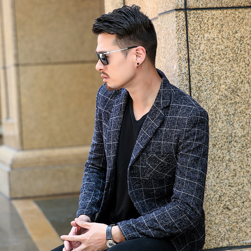2018 spring new mens business casual small suit jacket youth Slim Korean version of the suit jacket tide