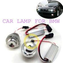 high quality FOR B-M-W 5 sevies auto light E60LCI E61LCI 10W CREE Angel Eyes LED MARKER lights  2X E60LCI car lamp