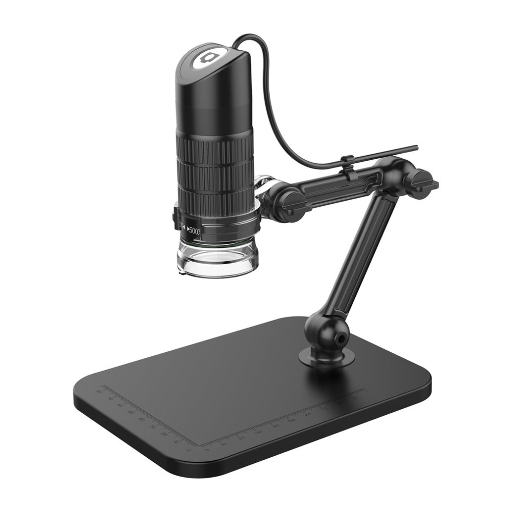 Digital USB HD Electronic Microscope Exposure 500X 800X 1000X With 8 LED Light Magnifier Optical Video CameraDigital USB HD Electronic Microscope Exposure 500X 800X 1000X With 8 LED Light Magnifier Optical Video Camera