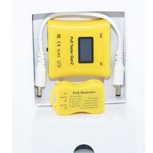 לזהות PoE סוג PoE Tester תצוגת מראה וולט, אמפר וואט עבור 802.3af/at, פסיבי PoE ו DC אספקת חשמל + PoE גלאי