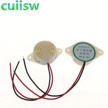 1 шт./лот 95 дБ Сигнализация с высоким децибелом 3-24 в 12 В Электронный звуковой сигнал прерывистый непрерывный звуковой сигнал для Arduino SFM-27