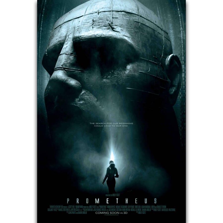 S2221 Прометей Классическая серия фильмов космический инопланетянин настенная живопись Печать На шелковом холсте плакат украшение для дома|Рисование и каллиграфия|   | АлиЭкспресс