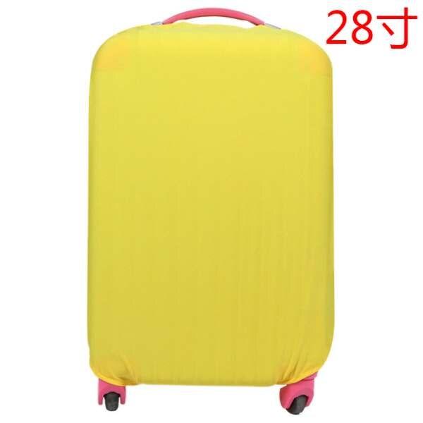 Тележка 28 дюймов 8 видов цветов эластичные пылесборники Водонепроницаемая камера крышка Защитный чемодан дорожные аксессуары поставки