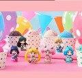6 unids/set helado de Caramelo Sailor Moon figura de acción del pvc modelo de altura 5 cm.