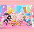 6pcs/set Ice cream Candy Sailor Moon action pvc figure model tall 5cm.