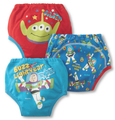 3pcs/lot Baby Potty Training Pants Child Diaper Cover Reusable Washable Training Nappies Children Underwear