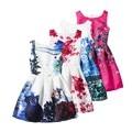 Newest Sleeveless summer Girls Dress Sleeveless Girls Princess Butterfly For Girls Spring Summer Party Costumes  Girls Clothes