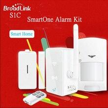 Broadlink S1 Inteligente Domótica Kit SmartONE S1C Sensor PIR Sensor de Movimiento y Sensor de La Puerta Contorl Remoto