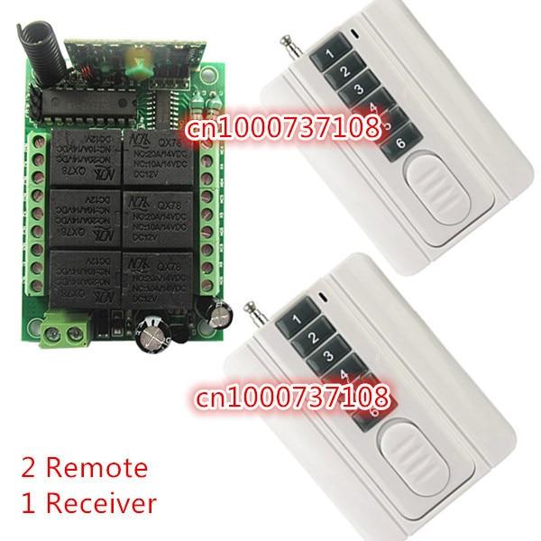 SG POST 6 CH RF 12V 10A wireless remote control Switch Long distance RF remote control Remote Control Manufacturer dc24v 8ch rf wireless remote control switch 8 receiver