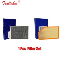 Cabin Air Filter Set For Volvo XC70 XC60 2.0T 2.4D 2.5T 3.2 AWD D3 D4 D5 T5 T6 Model 2007-2015 2016-Today 30767022/31370161