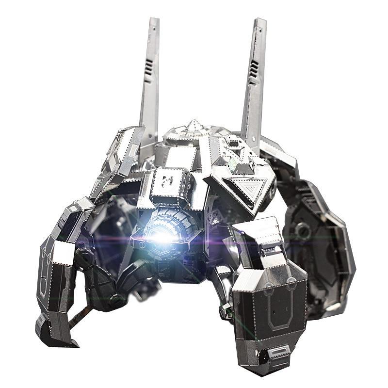 MU 3D metallist pusle Star Craft Terran Spider Mines luksus 3D laserlõigatud komplekt Pusle mänguasjad Töölauakaunistused Kingitus auditi jaoks