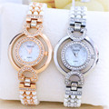 Pearl Watch Rose Gold 2016 Summer Women Brand YAQIN Luxury Lady Short Band Big Dial Relogio Feminino Rhinestone Bracelet Clasp