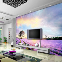 Sitting Room Design Wall Mural Wallpaper Purple And White Wallpaper Large Wall Decor Wall Art Ideas