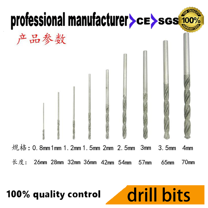 electroplate diamond drill bits for glasses jade stone hole making hand tap bit set 50 90mm emerald jade bracelet special diamond drill bit thin walled import sand hole ultra shengliao