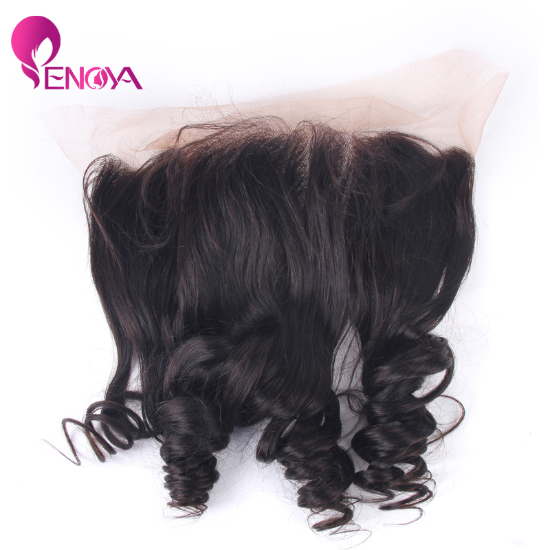 (US Stock) Loose Wave 13x4 Virgin Brazilian Lace Frontal Unprocessed Lace Frontal Free Part Frontal