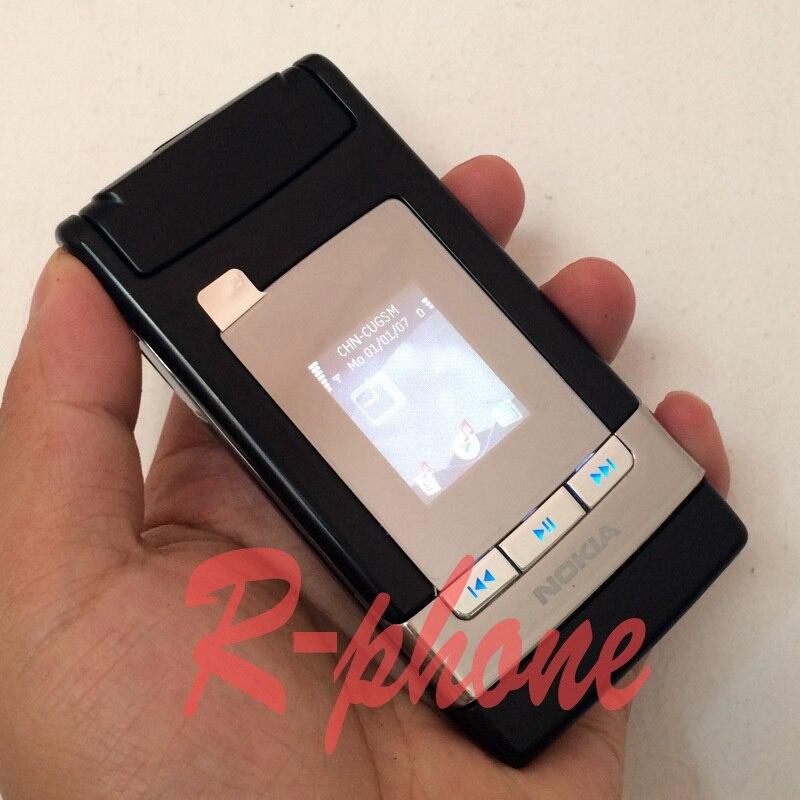 Цена за Оригинал Nokia N76 Mobile Phone 2 Г 3 Г Разблокирована Восстановленное Раскладной телефон и Один год гарантии