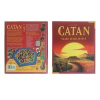 Catan Board Game The settlelers of Catan Card Game Family Fun Playing Card Game Toys Educational Theme English Indoor Side Table