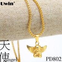 Nieuwe Collectie 2016 Baby Angel Ketting Hanger Ketting Vacuüm Plating Goud Luxuries Box Ketting Angel Hanger Ketting