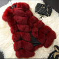 Latest Women Imitated mink Fur Vest Women clothes Tank top coat Slim Joining together High-grade Winter Female Vest B125
