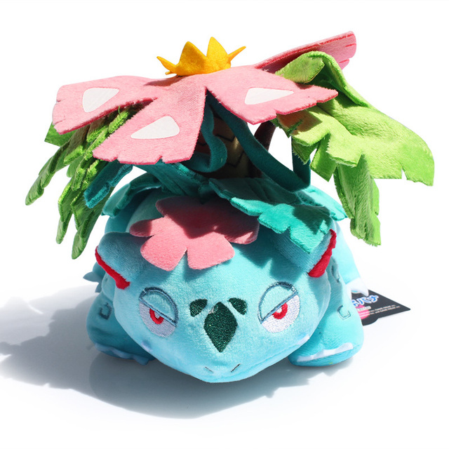 "Venusaur Plush Toy With Tag Cute Pikachu Collective Dolls 6""15CM Free Shipping"