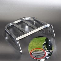 Chrome Motorcycle Rear Sissy Bar Luggage Rack Cargo Support Holder For Suzuki Intruder/Volusia VL800 01 11, Boulevard M50 05 09