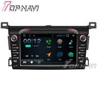 8 Inch 1024 600 Quad Core 16G Android 6 0 Car GPS Navigation For Toyota RAV4