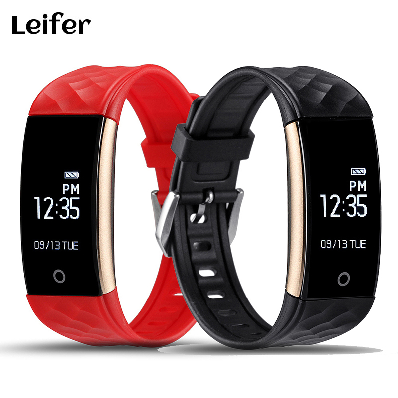 S2 Sport Bluetooth Smart Health Band Wristband Heart Rate Monitor IP67 Waterproof Smartband Bracelet for Android