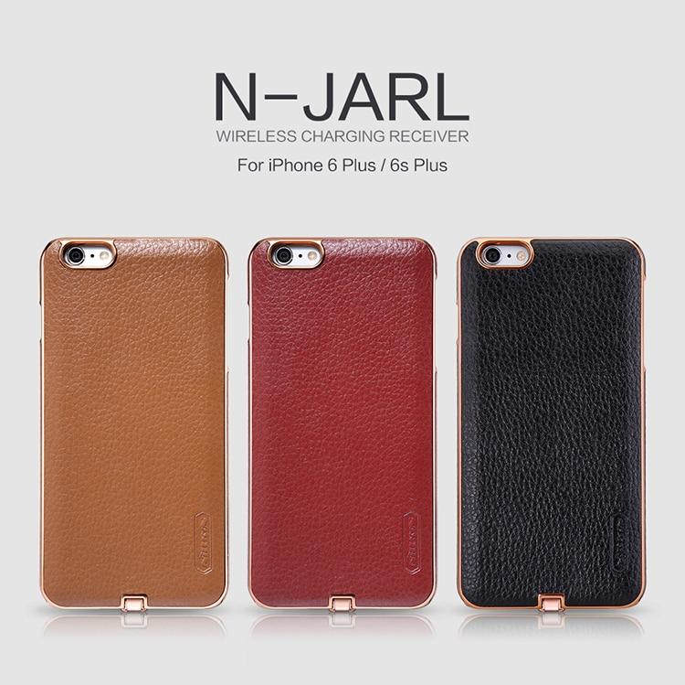 Цена за Nillkin N-JARL Для iPhone 6/6 s 4.7 ''6 плюс 6 SPlus 5.5'' Беспроводное Зарядное Устройство Приемника Обложка мощность Зарядки Передатчика Ци Приемник