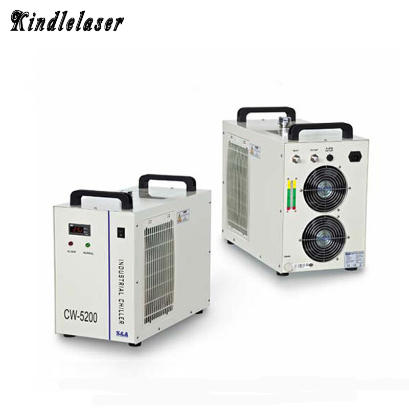 CW5200 Laser Water Chiller for Laser Machine Cooling Laser Tube Device CW5200AH/DH Industrial Chiller цена