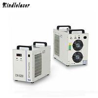 CW5200 Laser Water Chiller for Laser Machine Cooling Laser Tube Device CW5200AH/DH Industrial Chiller