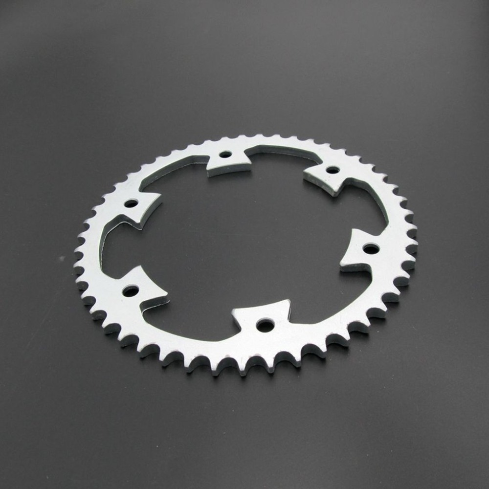 125MM Inner Diameter Aluminum Alloy Motorcycle Toothed <font><b>Sprocket</b></font> 428-<font><b>48T</b></font> Pit Dirt Bike <font><b>Sprocket</b></font> Durable Drive Gears image
