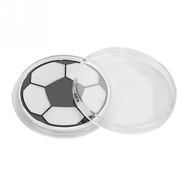 Soccer Toss Coin Football Pick Edge Finder Coin Toss Referee Side Coin Judge Flipping Professional Soccer Match Accessories