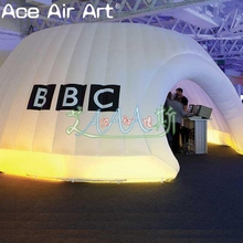7m diameter inflatable portable igloo dome for sale,inflatable dome marquee for Exhibition and Trade Show Event
