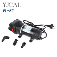 FL-32 110V 220V Small Household Electric Water Pump Water Heater Booster Self Priming Pump Temperature Control Pressure 100w quiet household hot water shower booster pump booster pump for solar heater floor heating with temperature control switch