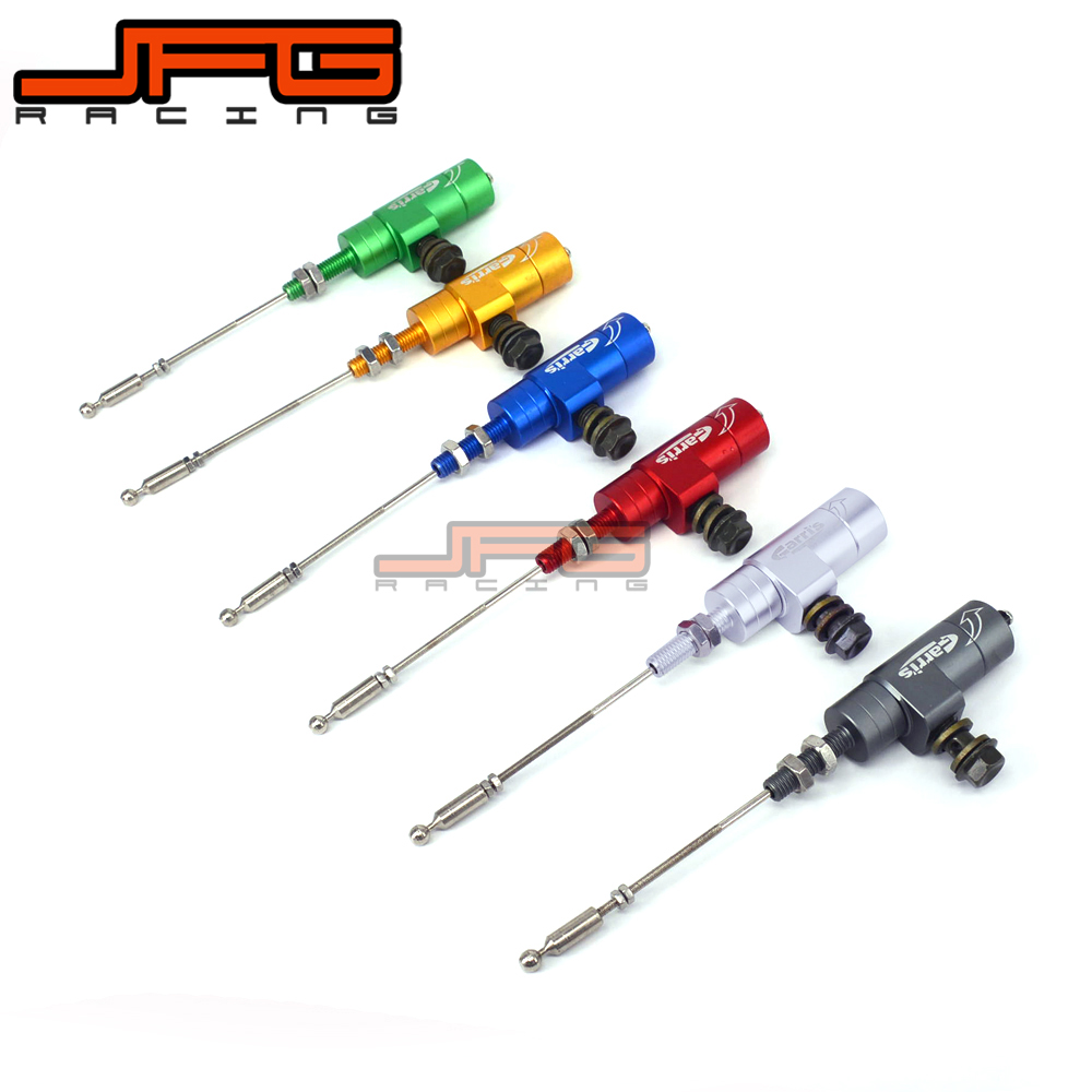 Hydraulic Clutch Master Slave Cylinder Rod Pump For EXC EXCF XC XCF XCW XCFW MX EGS SX SXF SXS SMR SID DAYS 125-525 4 directions foldable pivot clutch lever for ktm exc excf excr xc xcf xcw xcfw sx sxf days dirt bike motorcycle free shipping